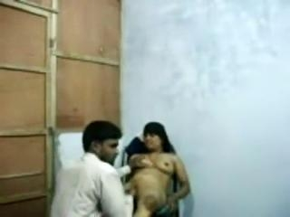 Bengali pros with her client in hotel room