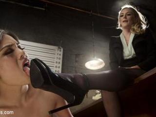 Interrogation Training: Deputy detective fucked, b