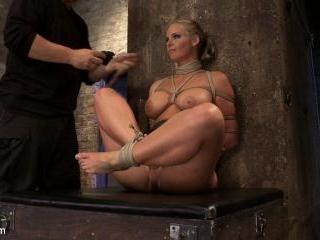 Phoenix Marie FINALLY & brutally orgasmed to near