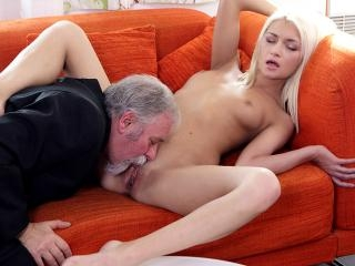 Lucky Tanya finds out her old goes young boss also