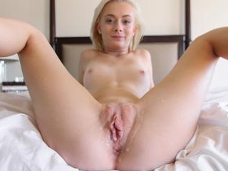 Tight Blonde Pussy