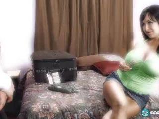 Claudia KeAloha in The Hotel Hi-jacker