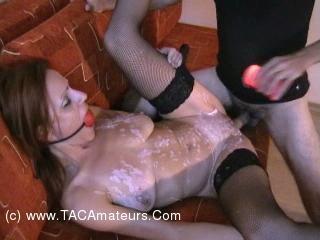 Playing With Wax Pt4 - Orgasm & Cum Shot