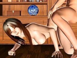 3d hentai wife getting hard fucking