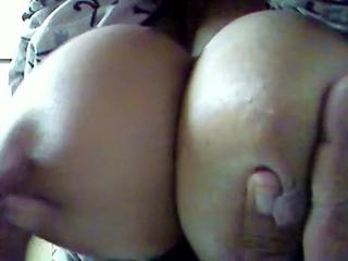 Showing My Wife\'s Big Breast