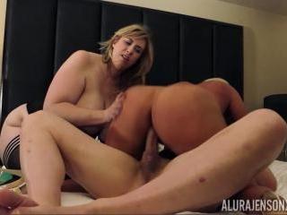 Alura Jenson Brings Her Voluptuous Body To Threeso