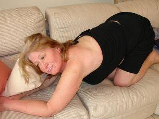 Sexy Granny with natural boobs fucked hard