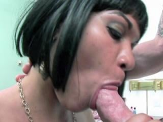 Latina housewife Rosario Stone in a cheap motel ro