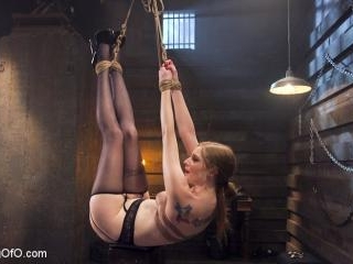 Blonde Slave Slut Training: Ela Darling Day 2