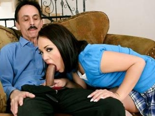 Kristina Rose Screwing Her Stepdad
