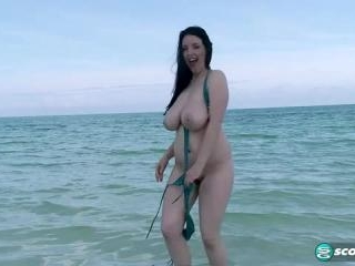 Angela White in On Location Big Boob Paradise: An