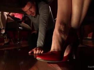 Thanksgiving FEMDOM Foot Affair | Kink.com