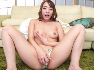Shy Airi Mashiro craves for cock in her wet little
