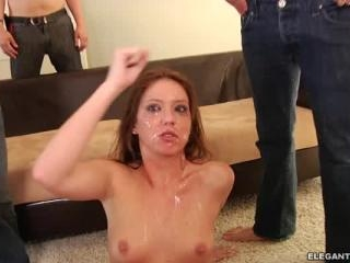 Bonnie Rotten all sticky with Maddy plus Riley and