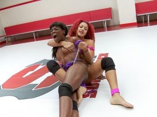 Daisy Takes On the Ana Conda. Someone gets SQUEEZE