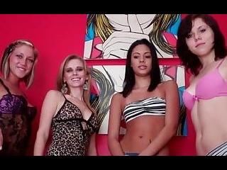 Stroke it for us four girls