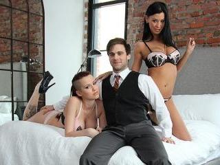 High Class Threesome