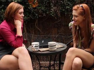 Jodi Taylor and Pepper Kester horny redhead lesbia