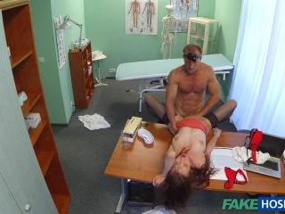 We Fucked And The Nurse Kept Watching Us!