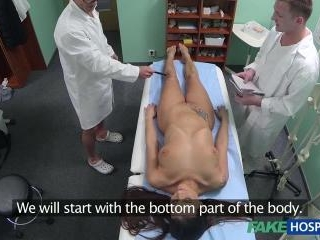 Anatomy Lesson For Lucky Doctor-To-Be!