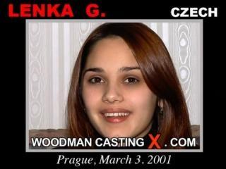 Lenka G casting