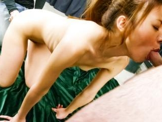 blindfolded Mio Kuraki toyed and teased in a wareh
