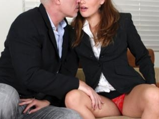 Barely Legal Allie Haze Chokes On A Thick Cock