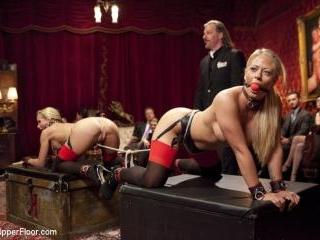 Kinky MILF Sex Slaves Service Hot Stud Dick