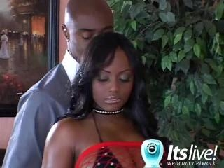 Busty Jada Fire Plays With Her Rack