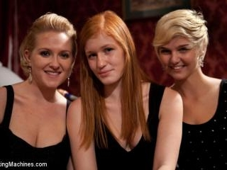 Three Amateurs Girls Competing for the FuckingMach