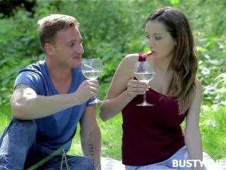 Busty Outdoor Sex