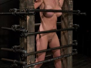 Krissy Lynn Big titted, blond, trapped in the big