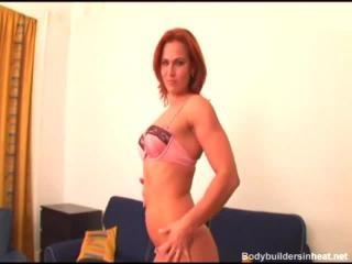Jasmina of Bodybuilders in Heat