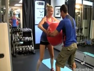 Summer Daniels And Shane Fuck In The Gym