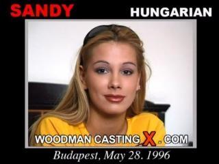 Sandy casting