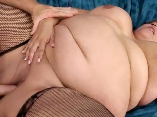 Sexy fat girl Veruca Darling showing off and takin