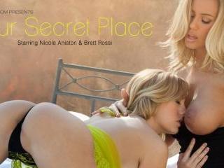 Nicole Aniston and Brett Rossi in Our Secret Place