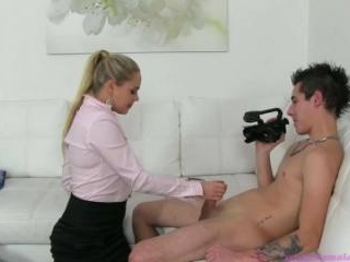 You Will Be The Cameraman And Stud!