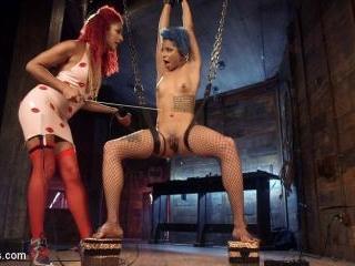 Real Life Electro Sex: Daisy Ducati vs. Jessica Cr