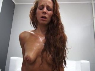 Passionate Redhead Gets Hard Fuck with Happy Endin