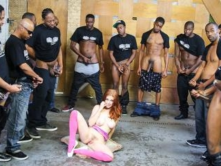 Penny Pax - Interracial Blowbang