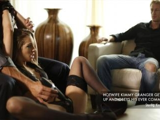 Hotwife Kimmy Granger Gets Tied Up and Screwed