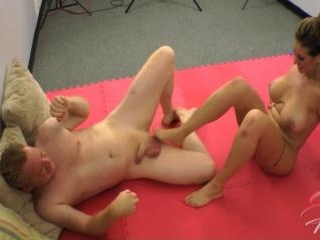Eva Notty Testicle Wrestling