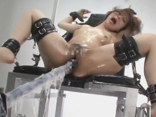 Tied up Japanese gets fucked with high speeds