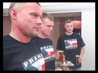 Servicing the Czech Drinking Team