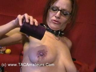 Fetish Cam Pt5 - Wax, Clamps & Orgasms