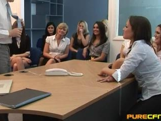 Blowjob For The Office Girls