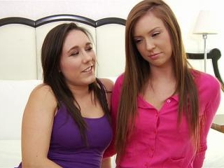 Maddy Oreilly and Sinn Sage steamy brunette sex