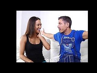 Kalina tastes a German cock