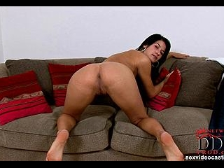 Horny newcomer showing all